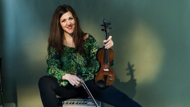 Sarah Curro is a violinist with the Melbourne Symphony Orchestra.