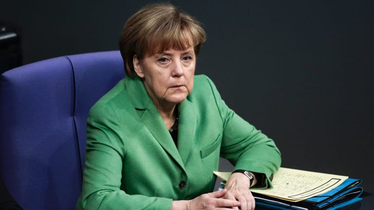 Angela Merkel has topped the list for the fifth year in a row.