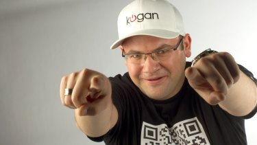 Kogan is not joking when he says that his core business is not actually about selling stuff.