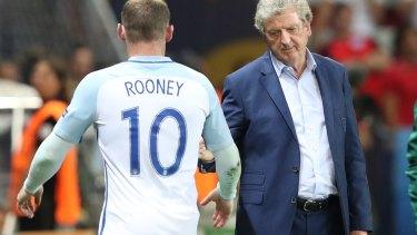 Ignominious exit: Roy Hodgson.