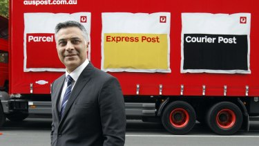 Australia Post CEO Ahmed Fahour says the declines in letters posted are 'alarming'.