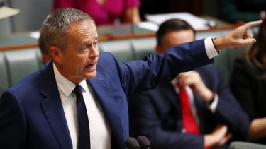 These are Malcolm Turnbull's cuts: Opposition Leader Bill Shorten.