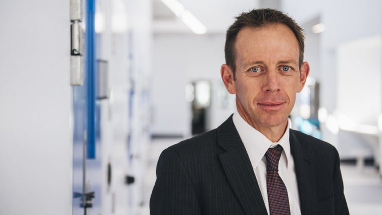 Justice Minister Shane Rattenbury