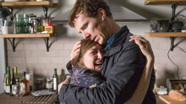 Kelly Macdonald as Julie Lewis and  Benedict Cumberbatch as Stephen Lewis star in <i>The Child In Time</i>.