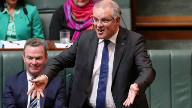 There's one government report that you might not have heard the Treasurer, Scott Morrison, talking about.