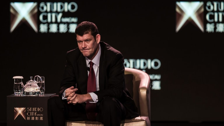 Major shareholder James Packer said he was 'deeply concerned' about the detentions of Crown staff.
