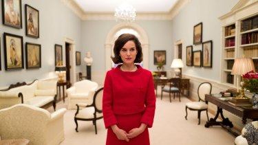 Natalie Portman's Jacqueline Kennedy is meticulously engineered.