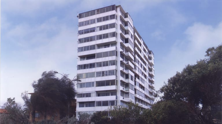 Pioneer: The city's first privately developed residential high rise, Edgewater Towers in St Kilda, built in 1961, is included in Open House Melbourne next week.
