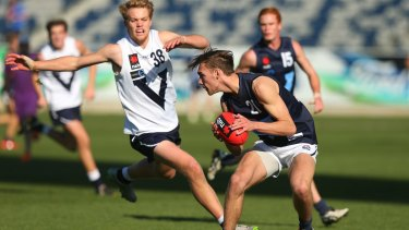 Jack Scrimshaw playing for Vic Metro
