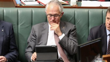 Prime Minister Malcolm Turnbull's use of a private email account has been questioned.