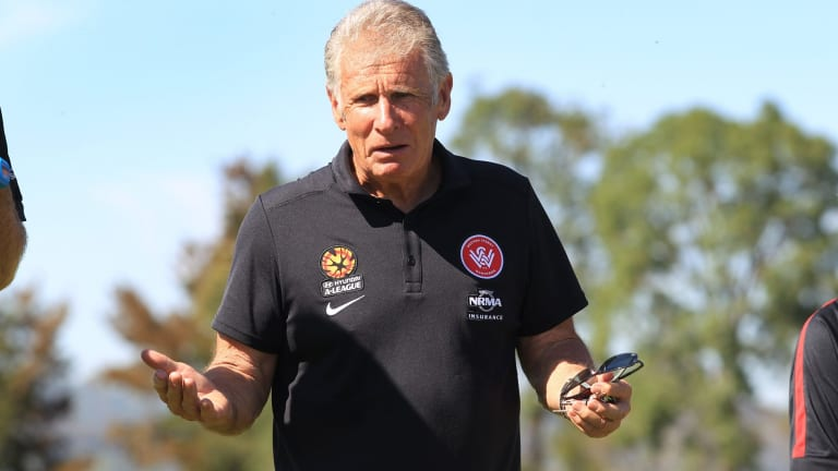 Fond memories: Former Socceroo goalkeeper Ron Corry grew up in the area.