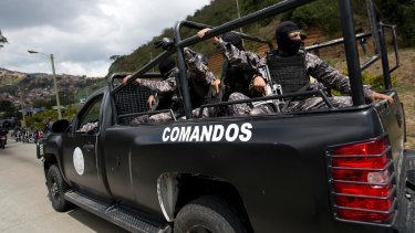 Venezuelan special forces exchanged gunfire with the rebellious police officer who has been on the run since leading a high-profile attack in Caracas last year.