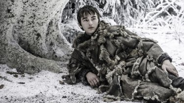 Bran Stark can see the past, the future, everything. Except what a knob he has become.