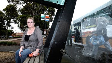 Vicki Claire-McDonald, who was seriously injured in a bus when the driver tried to make up time.