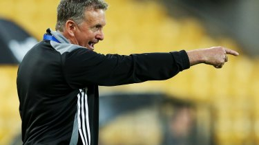 Ernie Merrick has taken the coaching reigns at Newcastle Jets.
