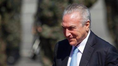 Brazilian President Michel Temer denies all wrongdoing.