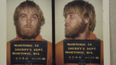 True crime: Steven Avery was charged with sexual assault in 1985.