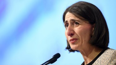Premier Gladys Berejiklian announced a deal with Parramatta council hours before a planned public meeting.