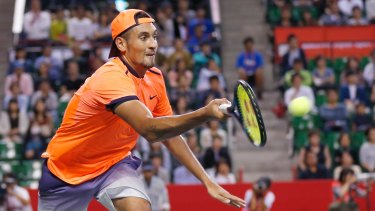Nick Kyrgios says he's stronger and fitter now.