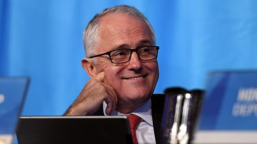 """Prime Minister Malcolm Turnbull: No assurances on government funding for """"clean coal"""" plants."""