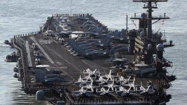The USS Carl Vinson