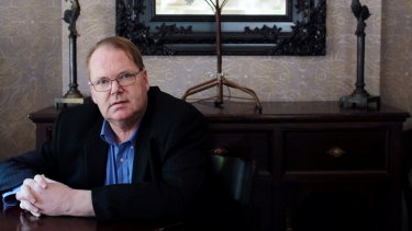 Author Mark Colvin.