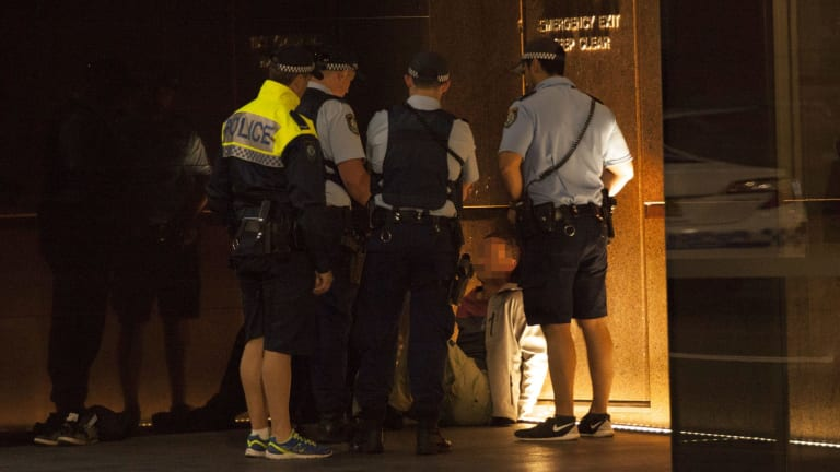 Man arrested during police operation near Martin Place