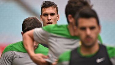 Big-money move: Trent Sainsbury is off to Jiangsu Sainty in China.