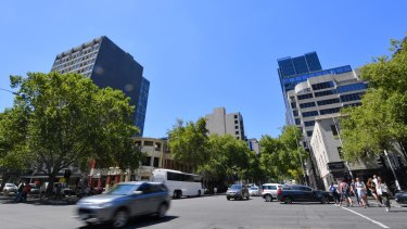 Central Equity will build a 57-storey tower near the corner of King and Lonsdale streets.