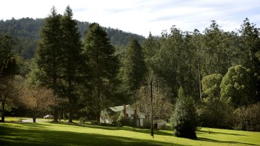A cottage at O'Shannessy Lodge in Warbuton East where Narconon runs a drug rehab centre.