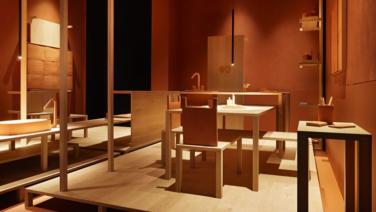 <i>The Table Is the Base</i>, by Hecker Guthriedesign studio.