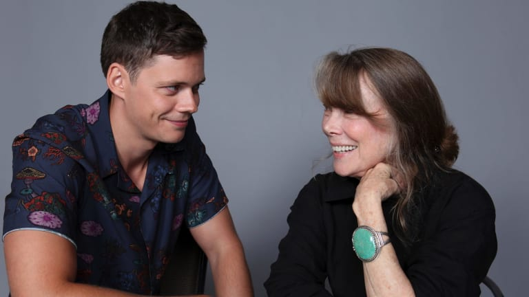 Bill Skarsgard, left, and Sissy Spacek.