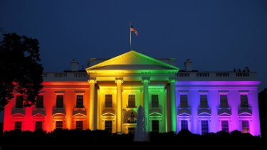 The White House celebrates the US Supreme Court ruling.