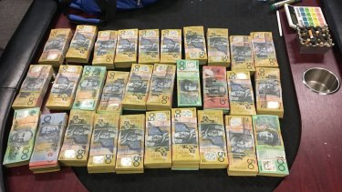 Police seized more than $2 million during 27 raids rolled out by the NSW Gangs Squad and Australian Border Force.