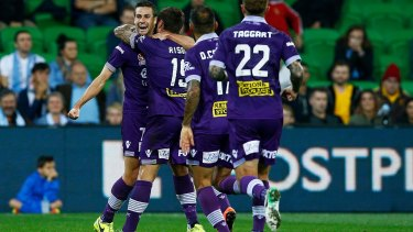 Good times: The Glory are on their way to becoming one of the A-League's big guns.