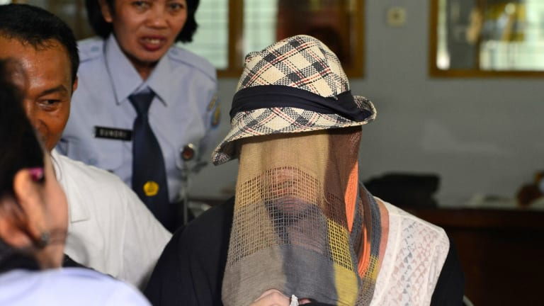Schapelle Corby's release from Kerobokan prison in 2014.