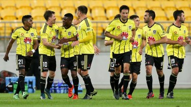 Club in trouble: Wellington Phoenix beat the Brisbane Roar at Westpac Stadium on the weekend but they may not be around much longer.