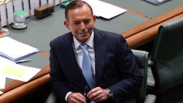 Not impressed: Prime Minister Tony Abbott.