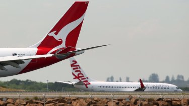 Qantas's move comes after Virgin eliminated fuel surcharge references last week and lowered its base fares to the United States.