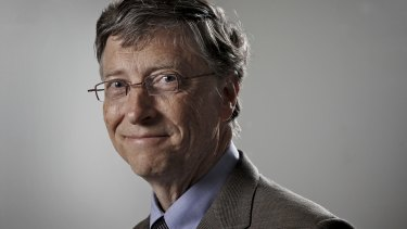 Microsoft co-founder and philanthropist Bill Gates of the Bill & Melinda Gates Foundation.