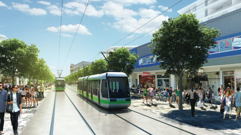 Some 54 per cent of respondents nominated cost and affordability when asked what aspects of the light rail concerned them.