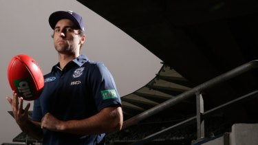 Geelong's Shane Kersten is showing some consistency in his fifth year with the Cats.