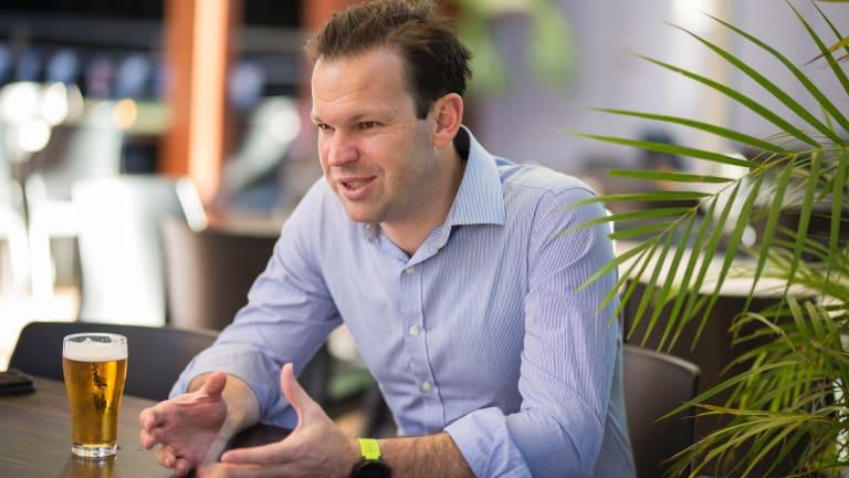 Federal Resources Minister Matt Canavan supports blockchain technology.