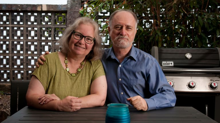 Karen and Frank Alpert gave up their American citizenship in June this year. They became Australian citizens 17 years ago after falling in love with Australia.