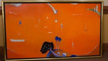 The allagedly fake 'Orange Lavender Bay'.