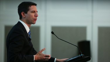 Education Minister Simon Birmingham puts controversial reform options on the table.