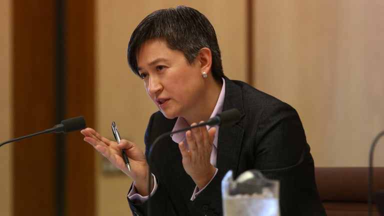 Senator Penny Wong says the media should steer clear of denigrating women