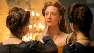 Saoirse Ronan has no difficulty conveying Mary Stuart's charm.