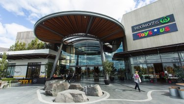 The exterior of Highpoint shopping centre in Maribyrnong.