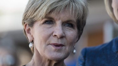Foreign Minister Julie Bishop says China faces 'strong reputational costs' if it refuses to abide by the ruling.